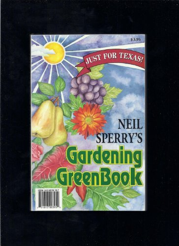 Gardening Greenbook Just For Texas