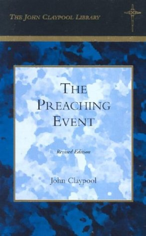 9780914520412: The Preaching Event (Lyman Beecher Lectures)