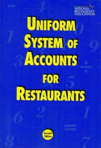 9780914528142: Uniform System of Accounts for Restaurants