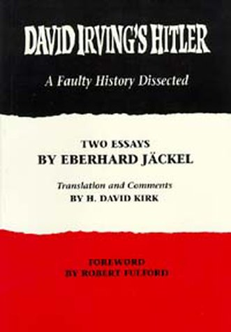 9780914539087: David Irving's Hitler: A Faulty History Dissected