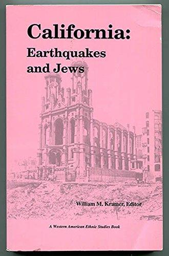 9780914615156: California, earthquakes and Jews