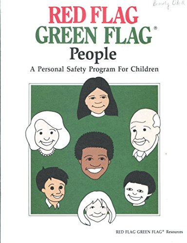 9780914633105: Red Flag Green Flag People: A Personal Safety Program for Children/& Coloring Book