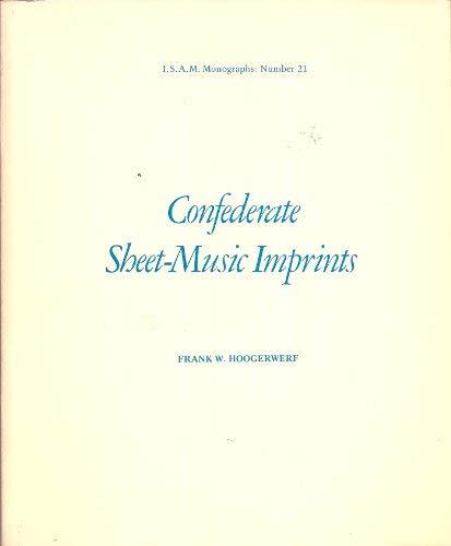 Confederate Sheet Music Imprints