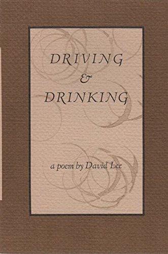 9780914742609: Driving And Drinking
