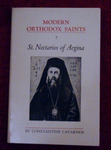 9780914744542: St. Nectarios of Aegina (Modern orthodox saints)