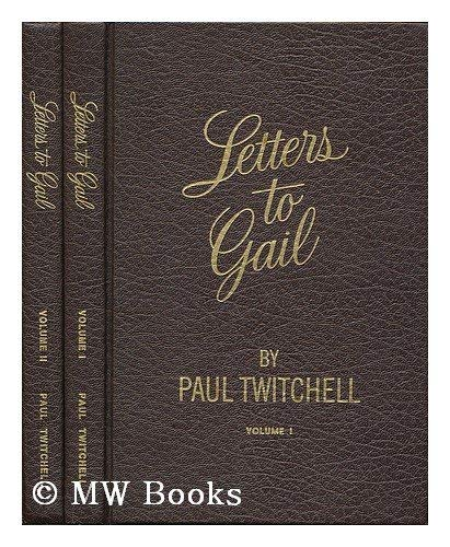 9780914766124: 001: Letters to Gail