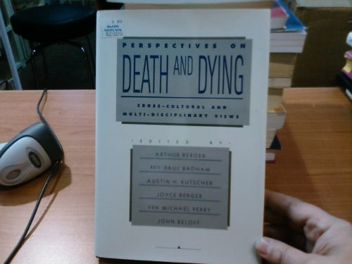 9780914783268: Perspectives on Death and Dying: Cross-Cultural and Multi-Disciplinary Views
