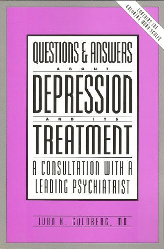 9780914783688: Questions & Answers About Depression and Its Treatment: A Consultation With a Leading Psychiatrist
