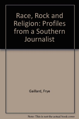 9780914788591: Race, Rock and Religion: Profiles from a Southern Journalist