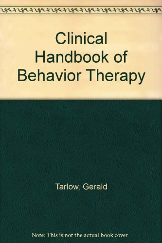 9780914797395: Clinical Handbook of Behavior Therapy