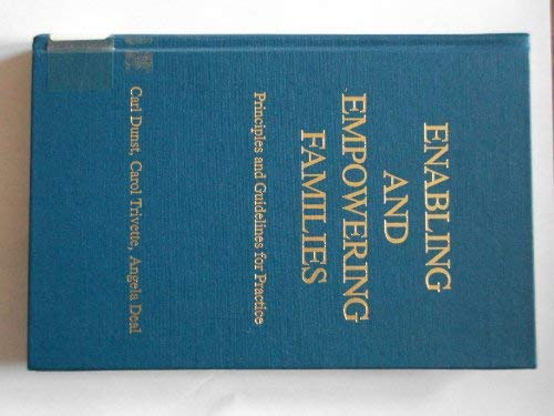 9780914797449: Enabling and empowering families: Principles and guidelines for practice