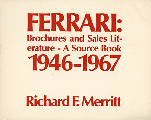 9780914822059: Ferrari: Brochures and Sales Literature - A Source Book