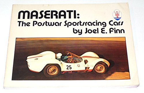 9780914822103: Maserati: The Postwar Sportsracing Cars