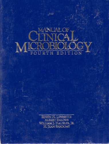 9780914826699: Manual of Clinical Microbiology