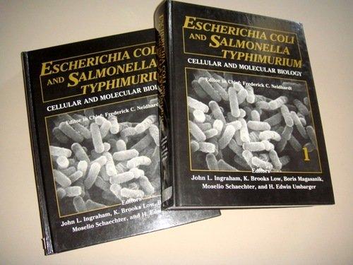 Escherichia Coli and Salmonella Typhimurium: Cellular and: Neidhardt, F.C. (ed)