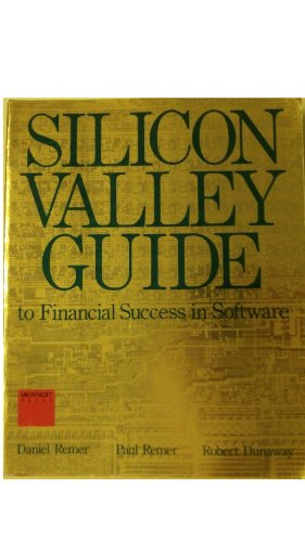 9780914845096: Silicon Valley Guide to Financial Success in Software