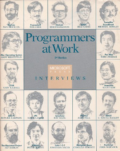 9780914845713: Programmers at Work