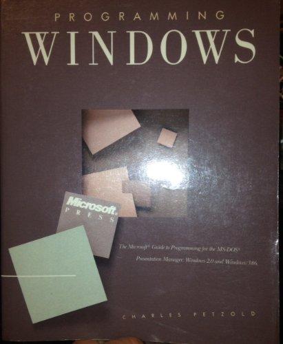 9780914845911: Programming Windows -1988 publication.