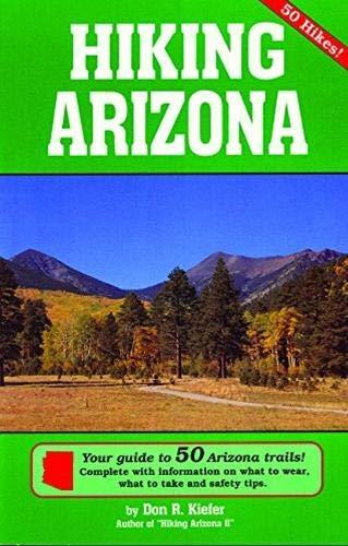 9780914846543: Hiking Arizona