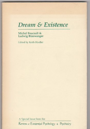 9780914857037: Dream and Existence (Studies in Existential Psychology & Psychiatry)