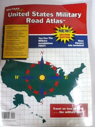 9780914862512: United States military road atlas