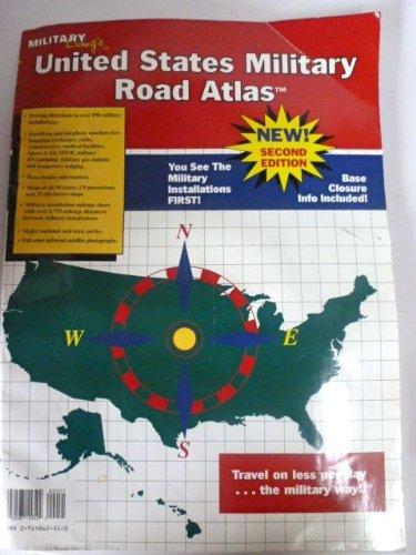 9780914862512: United States military road atlas