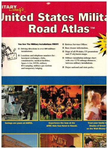 9780914862642: United States Military Road Atlas