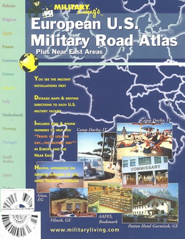 9780914862734: European U.S. Military Road Atlas: Plus Near East Areas