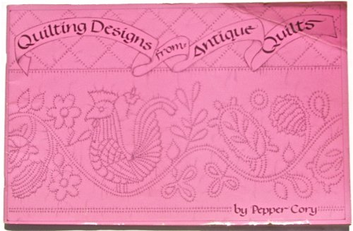 9780914881087: Quilting Designs from Antique Quilts