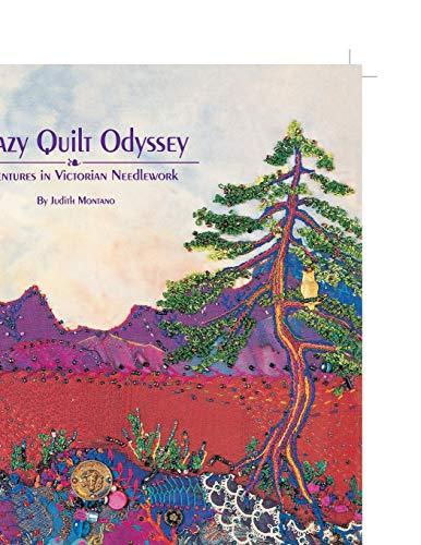 9780914881414: Crazy Quilt Odyssey: Adventures in Victorian Needlework