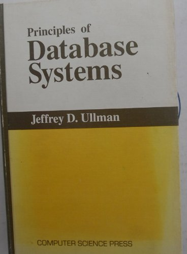 9780914894131: Principles of database systems (Computer software engineering series)