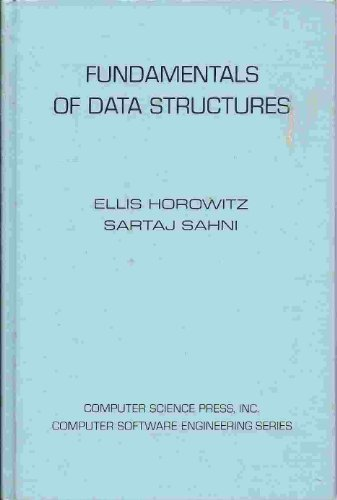 9780914894209: Fundamentals of data structures (Computer software engineering series)