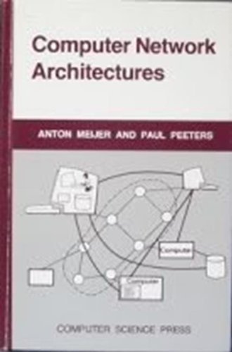 9780914894414: Computer network architectures (Electrical engineering communications and signal processing series)