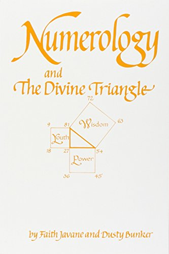 9780914918103: Numerology and the Divine Triangle