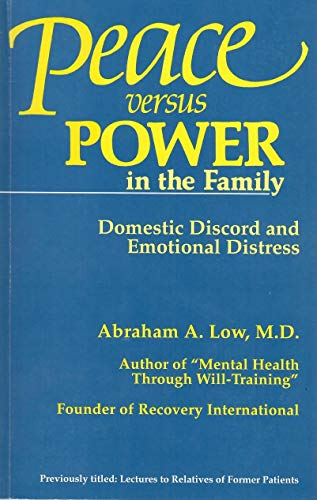 9780915005031: Peace Vs. Power in the Family