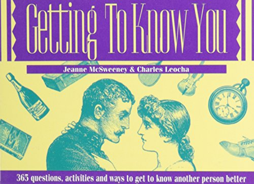 9780915009237: Getting to know you