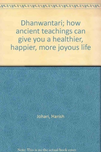 Harish johari used books rare books and new books for Ayurvedic healing cuisine harish johari