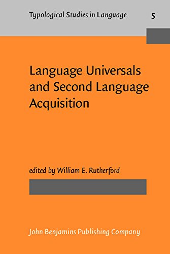 Language Universals and Second Language Acquisition (Typological Studies in Language): n/a