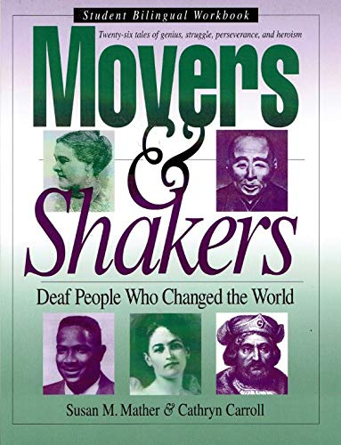 Movers & Shakers: Deaf People Who Changed: Carroll, Cathryn