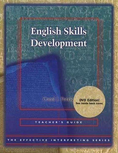 9780915035816: English skills development: Teacher's guide (Effective interpreting series)