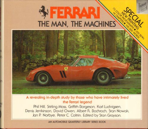 9780915038053: Ferrari, the Man, the Machines