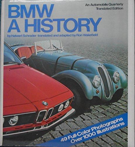 Bmw: A History: Schrader, Halwart