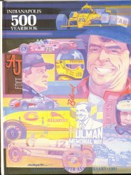 9780915088577: Indianapolis 500 Yearbook, 1991