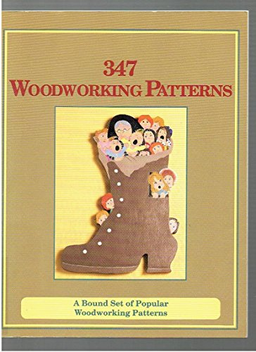 9780915099269: 347 woodworking patterns: A bound set of popular woodworking patterns