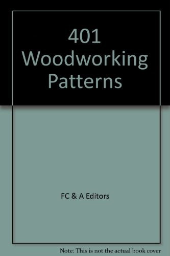 9780915099771: 401 Woodworking Patterns