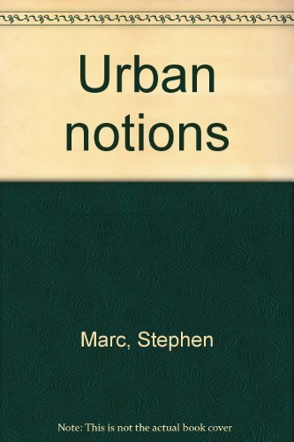 9780915109029: Urban Notions