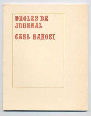 9780915124442: Droles De Journal