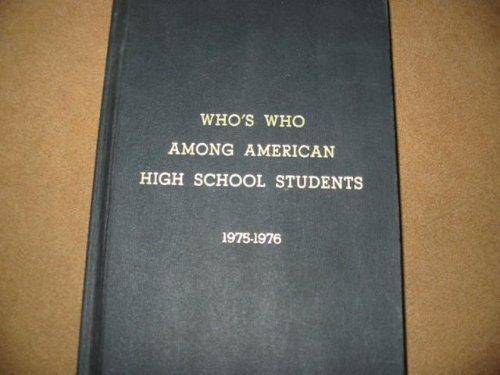 9780915130108: Who's Who Among American High School Students 1975-1976 Volume V