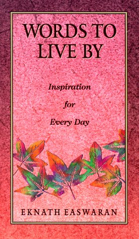 9780915132850: Words to Live by: Inspiration for Every Day