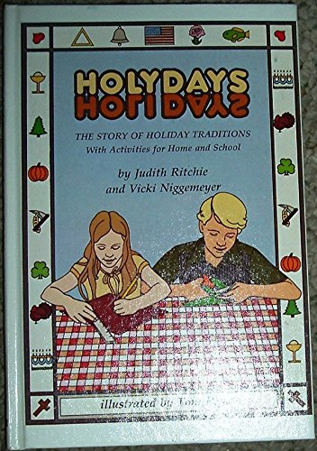 Holy Days: Holidays: Judith Ritchie